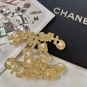 Authentic like NEW Large CHANEL Pearl Gold Brooch